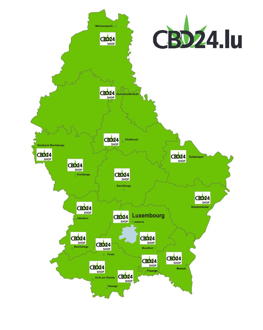 CBD24.lu Map